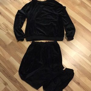 Other - Velour top w/ pants